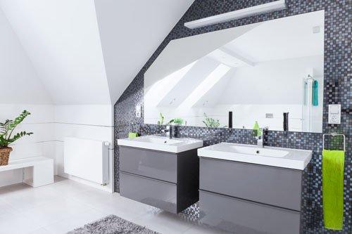 Jak Urządzić łazienkę Na Poddaszu Pomysły I Zasady łazienka