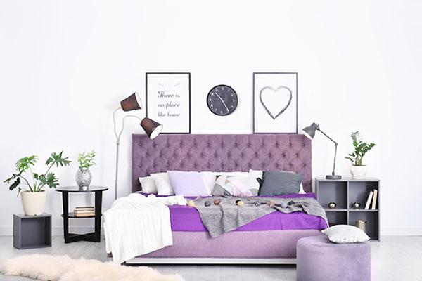 Kolor Wrzosowy Kolory ścian Wnętrz Dodatków