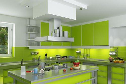 Zielony Kolor W Twoim Domu Zielony Salon Pokój Kuchnia
